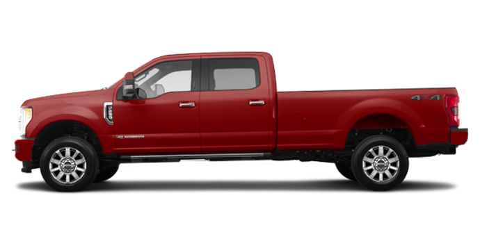 2018 Ford Super Duty F-250 LIMITED | Photo 4 | Ruby Red