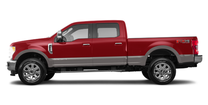 2018 Ford Super Duty F-350 LARIAT | Photo 4 | Ruby Red/Stone Grey
