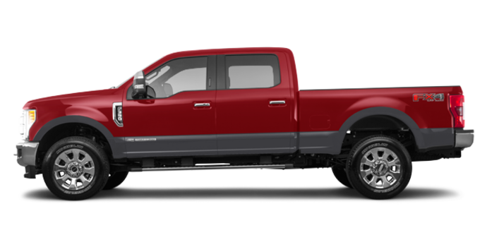 2018 Ford Super Duty F-350 LARIAT | Photo 4 | Ruby Red/Magnetic