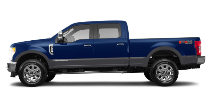 2018 Ford Super Duty F-350 LARIAT | Photo 4 | Blue Jeans Metallic/Magnetic