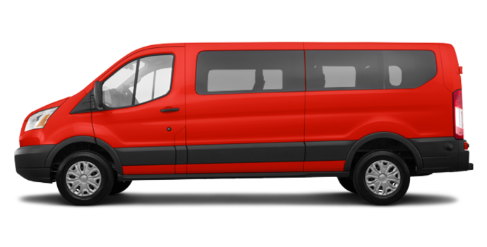 2018 Ford Transit WAGON XLT | Photo 4 | Race Red