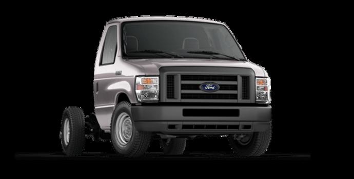 2018 Ford E-Series Cutaway 350 | Photo 6 | Stone Grey