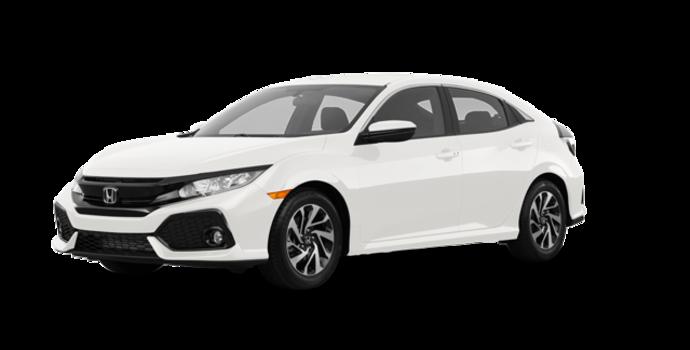 2018 Honda Civic hatchback LX HONDA SENSING | Photo 6 | White Orchid Pearl