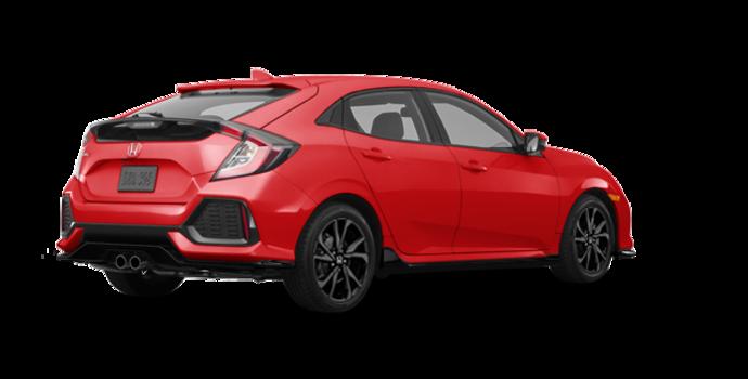 2018 Honda Civic hatchback SPORT HONDA SENSING | Photo 5 | Rallye Red