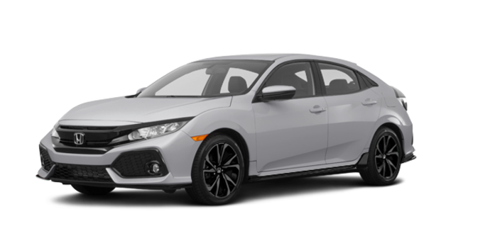 2018 Honda Civic hatchback SPORT HONDA SENSING | Photo 6 | Lunar Silver Metallic