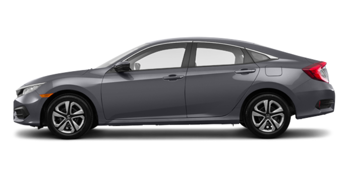 2018 Honda Civic Sedan LX | Photo 4 | Modern Steel Metallic
