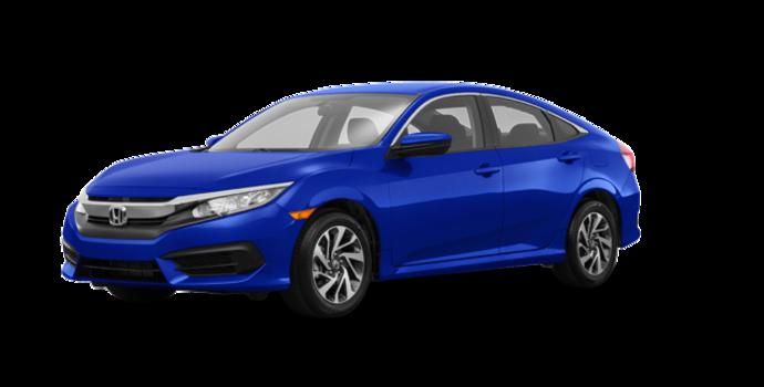 2018 Honda Civic Sedan SE | Photo 6 | Aegean Blue Metallic