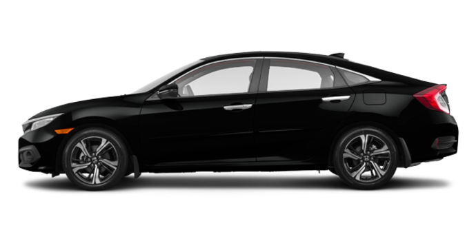 2018 Honda Civic Sedan TOURING   Photo 4   Crystal Black Pearl