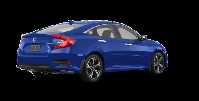 2018 Honda Civic Sedan TOURING   Photo 5   Aegean Blue Metallic