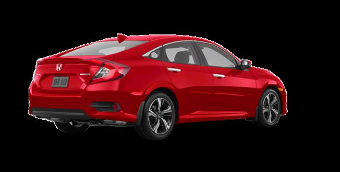 2018 Honda Civic Sedan TOURING   Photo 5   Rallye Red