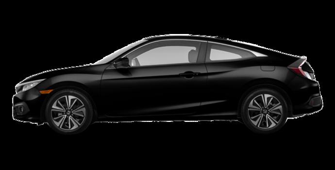 2018 Honda Civic Coupe EX-T HONDA SENSING | Photo 4 | Crystal Black Pearl