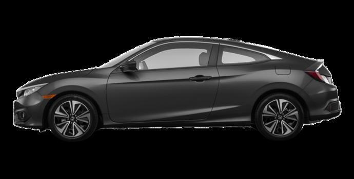 2018 Honda Civic Coupe EX-T HONDA SENSING   Photo 4   Modern Steel Metallic