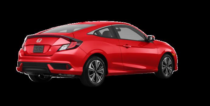 2018 Honda Civic Coupe EX-T HONDA SENSING   Photo 5   Rallye Red