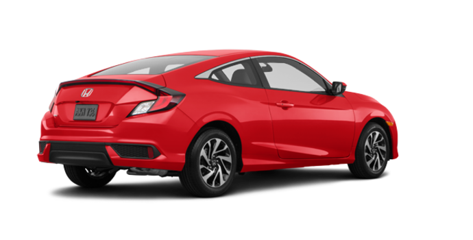 2018 Honda Civic Coupe LX-HONDA SENSING | Photo 5 | Rallye Red