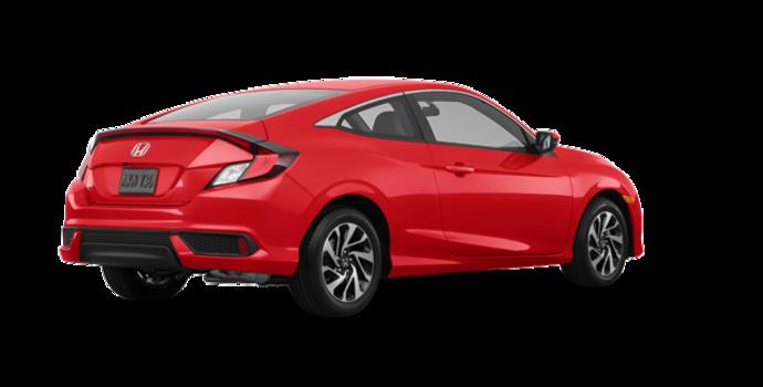2018 Honda Civic Coupe LX   Photo 5   Rallye Red