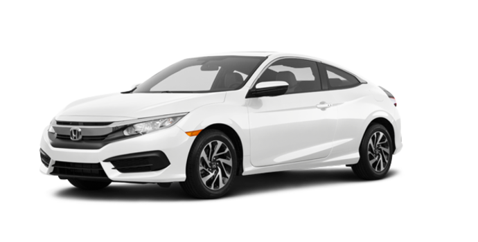 2018 Honda Civic Coupe LX   Photo 6   Taffeta White