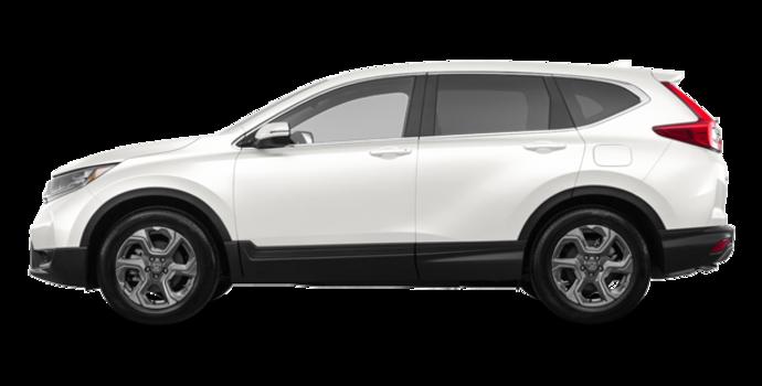 2018 Honda CR-V EX-L   Photo 4   White Diamond Pearl
