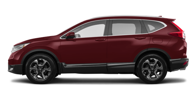 2018 Honda CR-V TOURING   Photo 4   Molten Lava Pearl