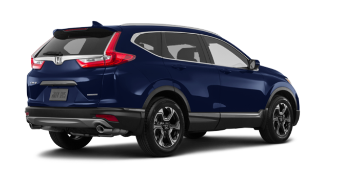 2018 Honda CR-V TOURING   Photo 5   Obsidian Blue Pearl