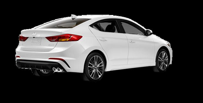 2018 Hyundai Elantra Sport TECH | Photo 5 | Polar White