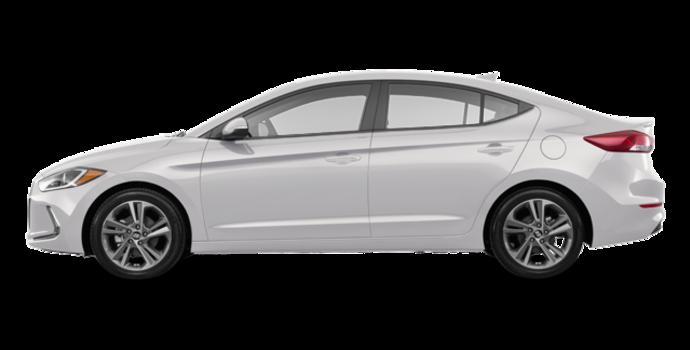 2018 Hyundai Elantra GLS | Photo 4 | Polar White