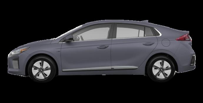2018 Hyundai Ioniq Hybrid BLUE   Photo 4   Aurora Silver