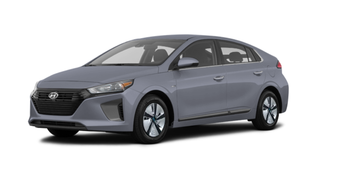 2018 Hyundai Ioniq Hybrid BLUE   Photo 6   Aurora Silver