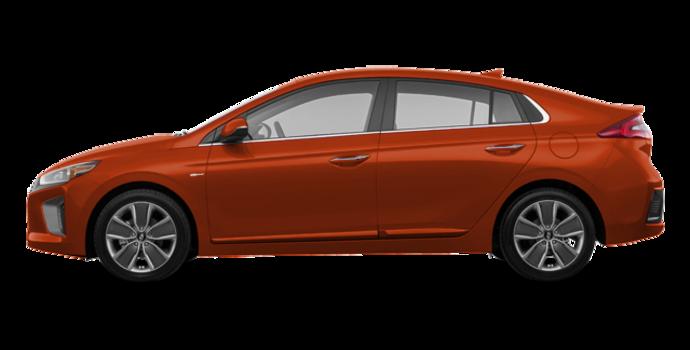 2018 Hyundai Ioniq Hybrid LIMITED/TECH | Photo 4 | Phoenix Orange