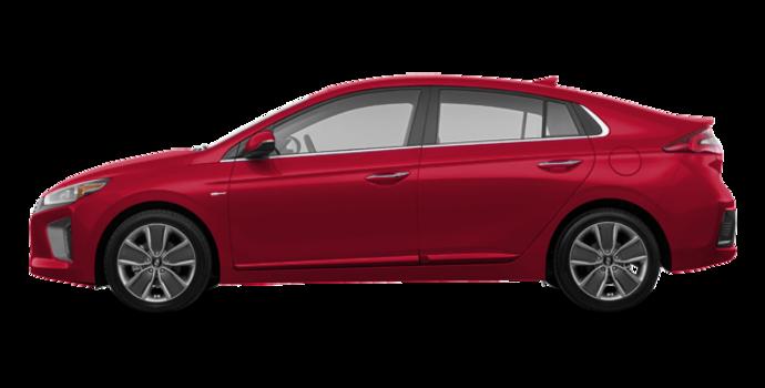 2018 Hyundai Ioniq Hybrid LIMITED/TECH | Photo 4 | Fiery Red