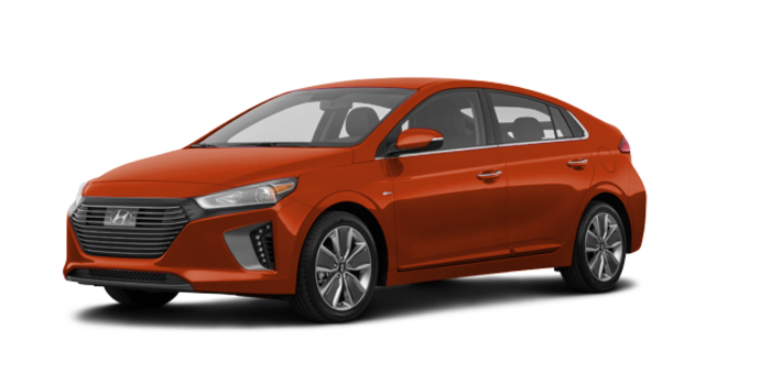 2018 Hyundai Ioniq Hybrid LIMITED/TECH | Photo 6 | Phoenix Orange