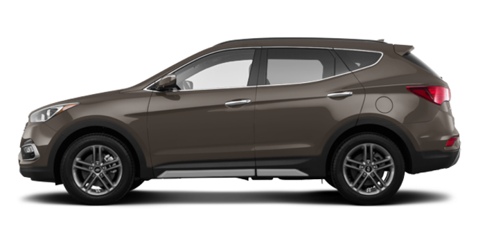 2018 Hyundai Santa Fe Sport 2.0T LIMITED | Photo 4 | Platinum Graphite