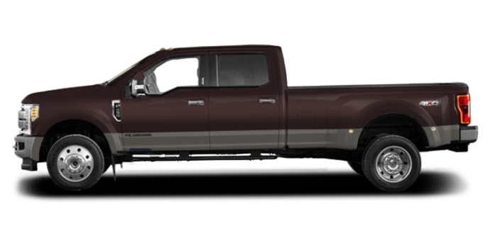 2018 Ford Super Duty F-450 KING RANCH | Photo 4 | Magma Red/Stone Grey