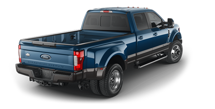 2018 Ford Super Duty F-450 KING RANCH | Photo 5 | Blue Jeans Metallic/Stone Grey