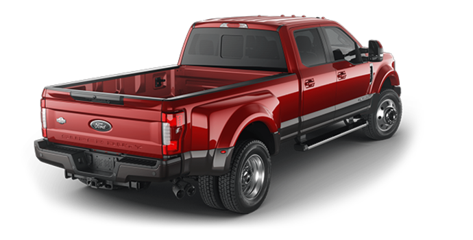 2018 Ford Super Duty F-450 KING RANCH | Photo 5 | Ruby Red/Stone Grey