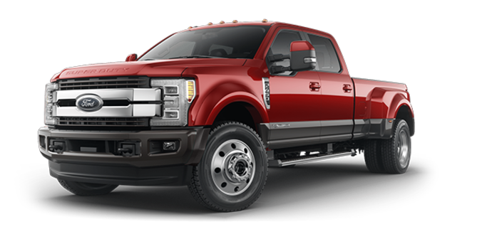 2018 Ford Super Duty F-450 KING RANCH | Photo 6 | Ruby Red/Stone Grey