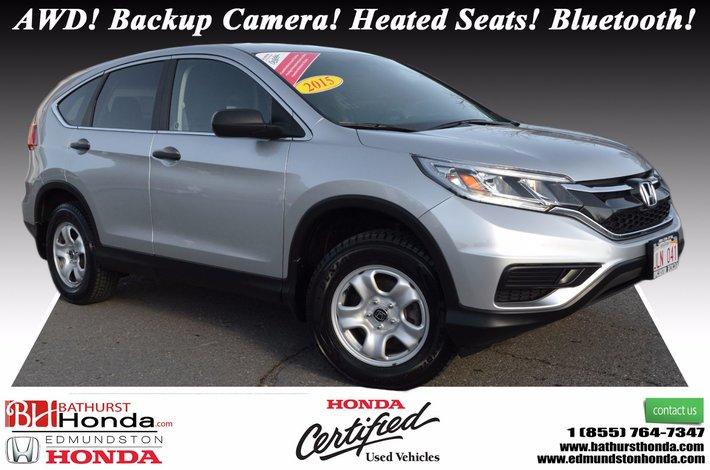 2015 Honda CR V LX   AWD AWD! Backup Camera! Heated Seats!