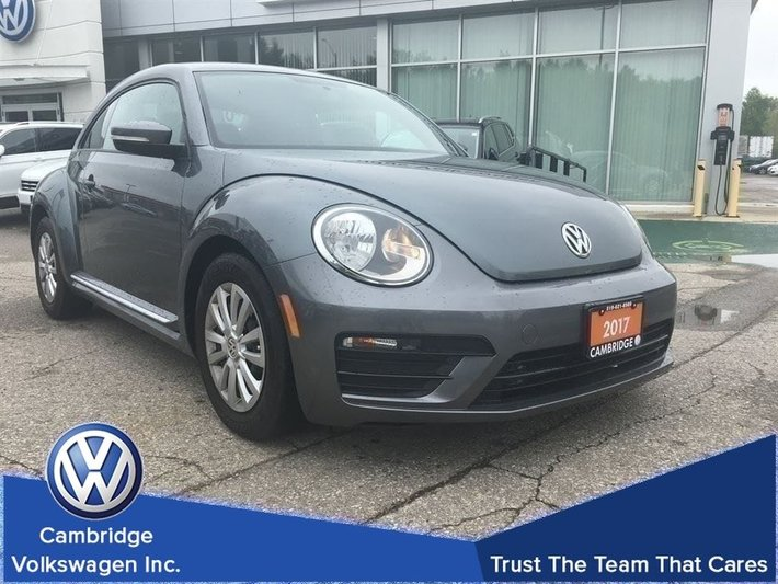 2017 Volkswagen The Beetle Trendline 1.8 Turbo With Android Auto/Car Play