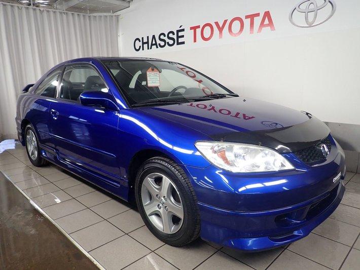 2004 Honda Civic Cpe Si Impeccable 8 Pneus Used For Sale In
