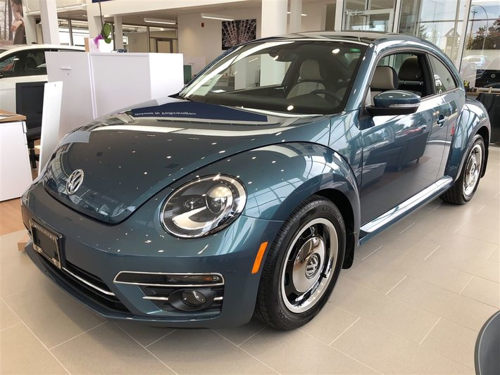 2018 Volkswagen Beetle COAST 2.0 TSI 174HP 6SP AUTO W/TIPTRONIC