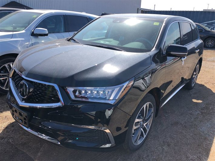 2018 acura mdx technology package new for sale in burlington acura
