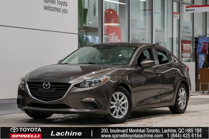 2014 Mazda Mazda3 GS-SKYACTIVE VERY CLEAN! ONE OWNER! BLUETOOTH! MAGS! BACK UP CAMERA! A/C! SUPER PRICE!