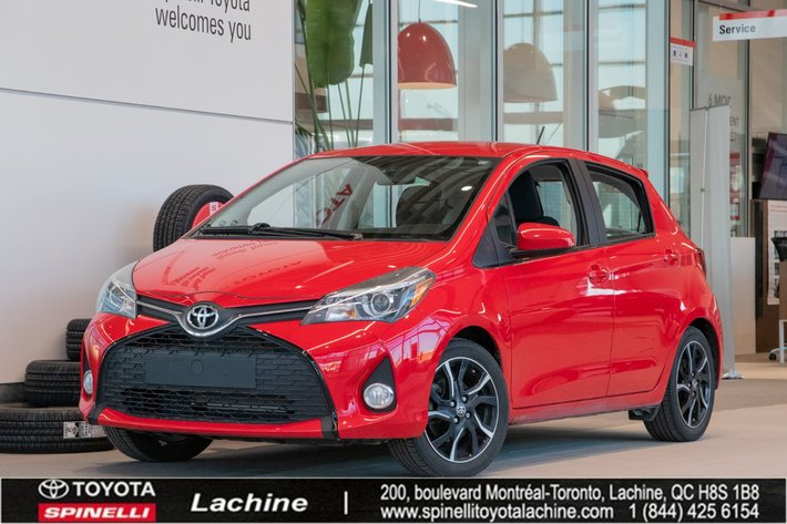 2016 Toyota Yaris SE IMPECCABLE! MAGS! BLUETOOTH! AIR CONDITIONED! LOW MILEAGE! SUPER PRICE! HURRY!