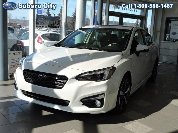 2019 Subaru Impreza 4 Dr Sport Tech Eyesight AT New For Sale In Edmonton