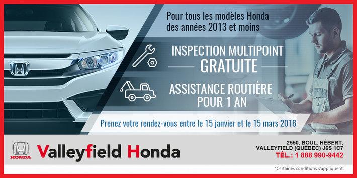 Condition Routiere Quebec >> Inspection Multipoint Gratuite Et Assistance Routiere Pour 1 An