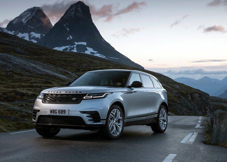 2018 Range Rover Velar: Impressive Style