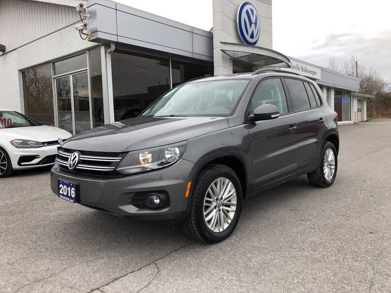 2016 Volkswagen Suv >> 2016 Volkswagen Tiguan Special Edition