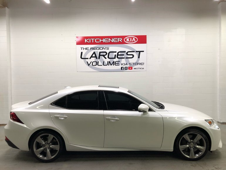2014 Lexus IS350 -AWD, NO ACCIDENTS, ONE OWNER, SMOKE FREE!!!