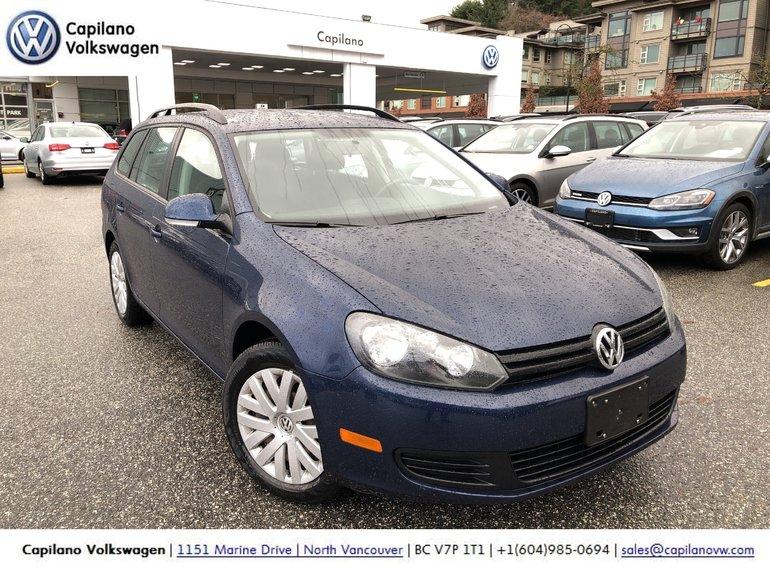 2013 Volkswagen Golf wagon Trendline 2.5 at Tip