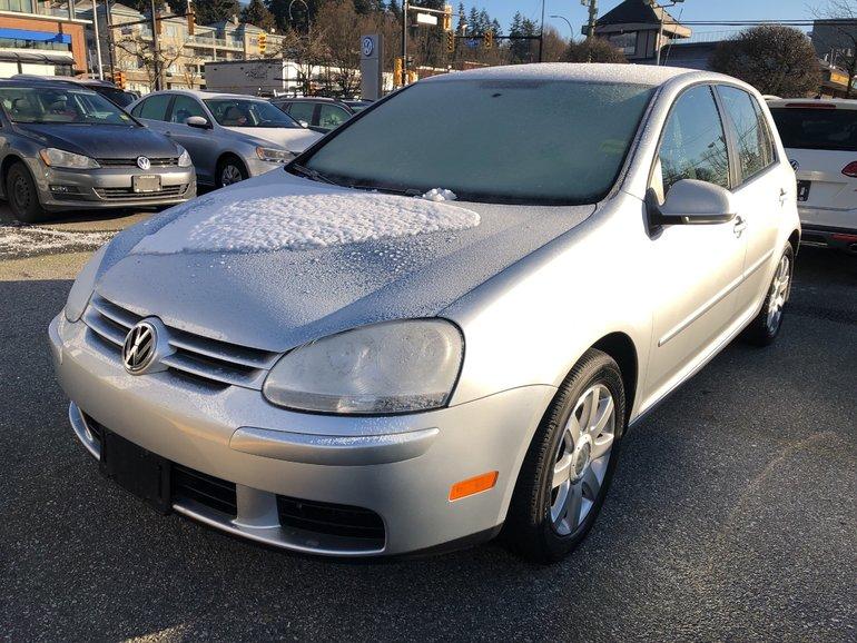 2008 Volkswagen Rabbit 5Dr 2.5 5sp