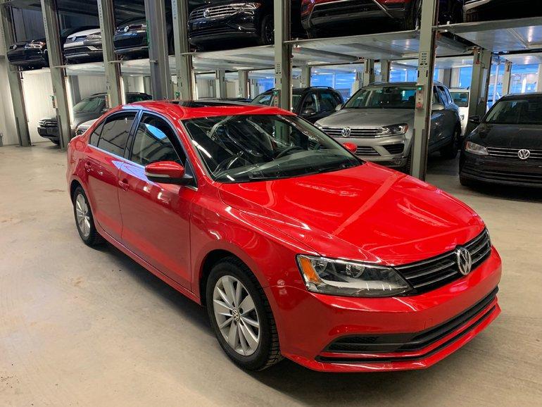 Volkswagen Jetta TRENDLINE PLUS+APPEARANCE+CONNECT PACK (CERTIFIED) 2016